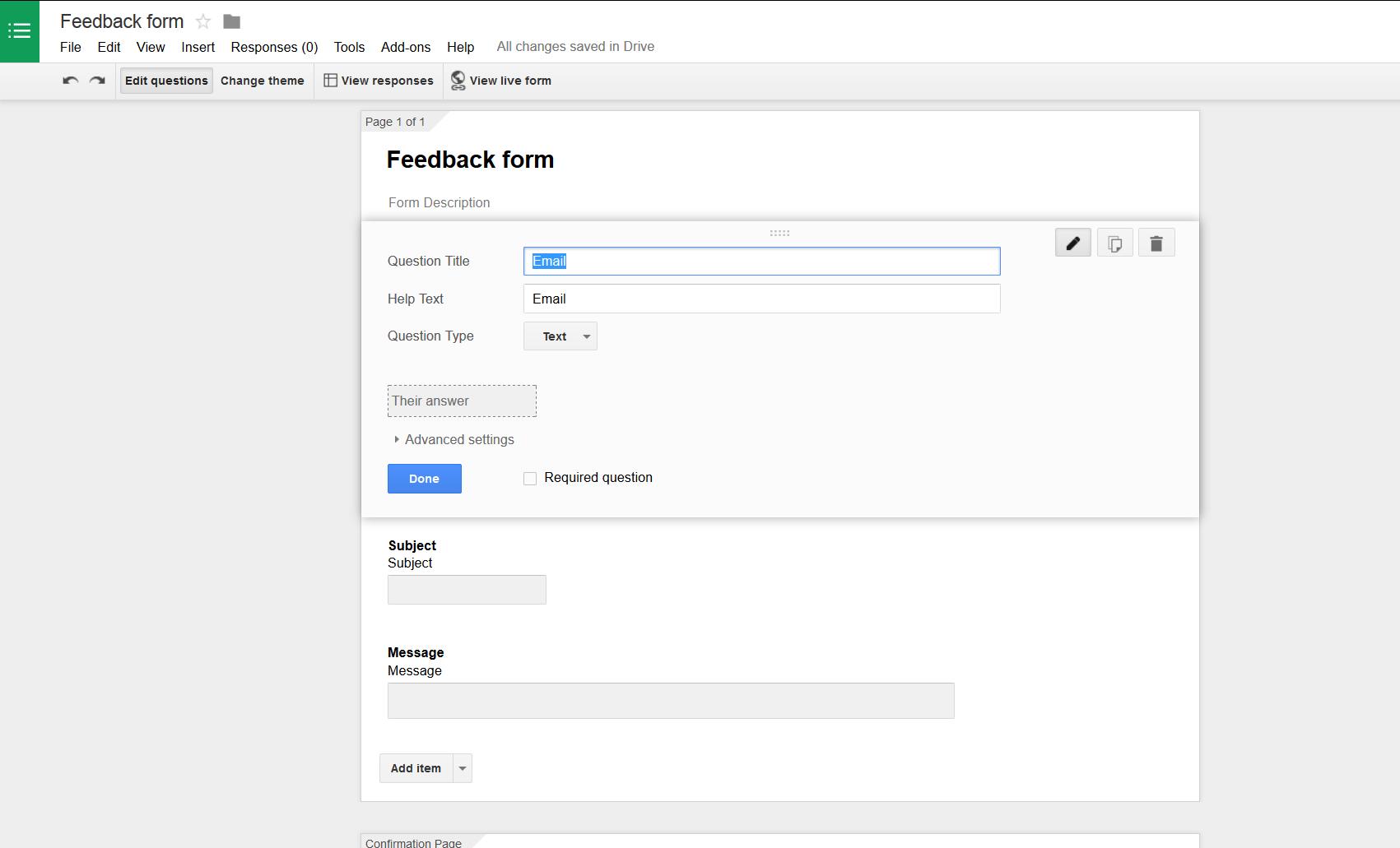 POST data to Google Docs sheet via app – CodeSmith